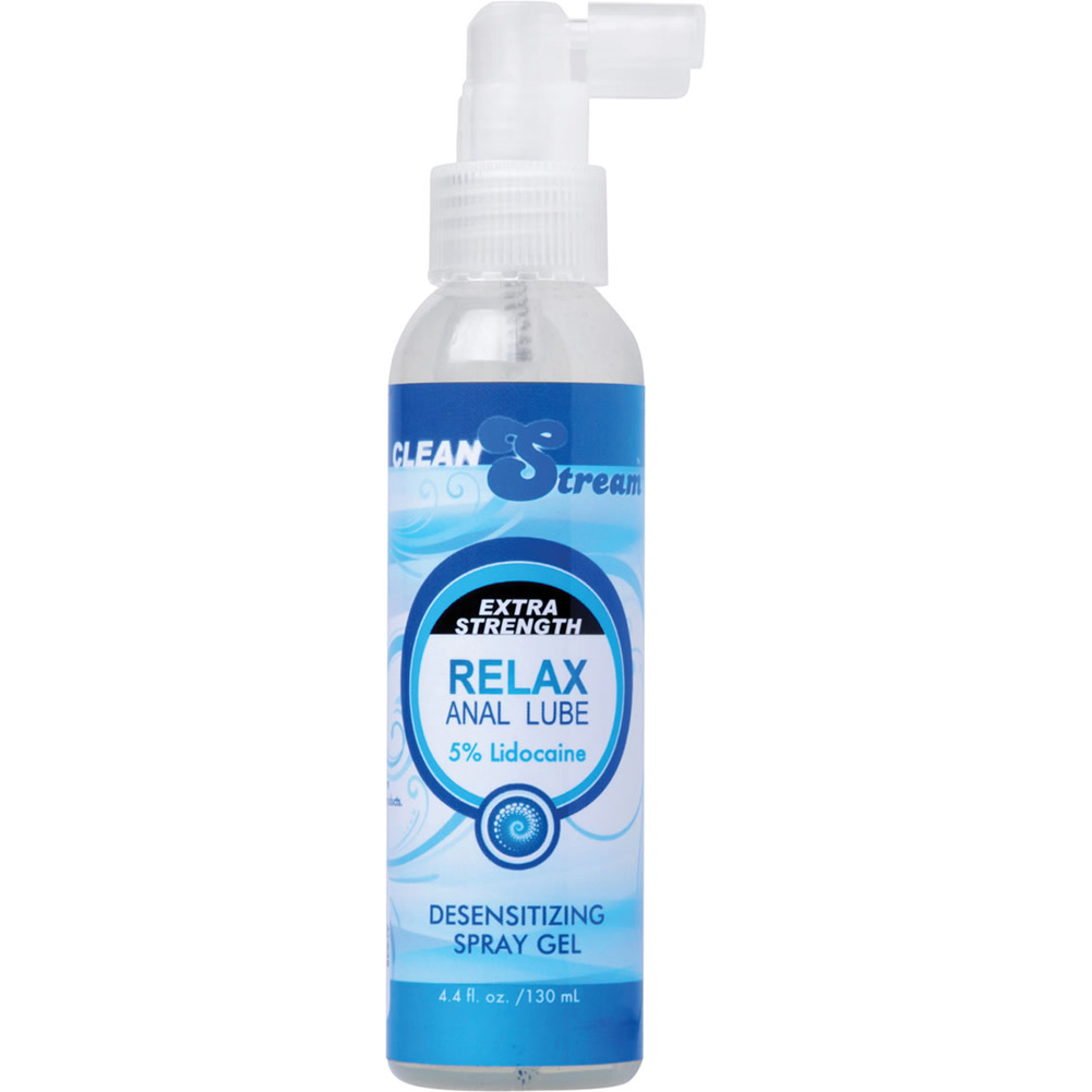 CleanStream Relax Anal Lube 5-Percent Lidocaine 4.4 Fl. Oz. - View #2